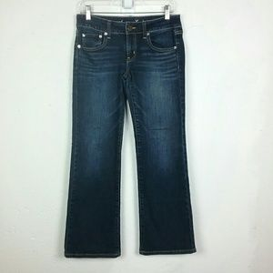 American Eagle Favorite Boyfriend Jeans Denim 6 S
